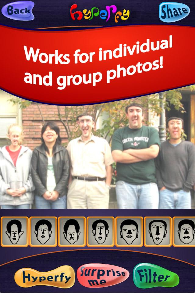 Hyper Face app   Digitalists IA